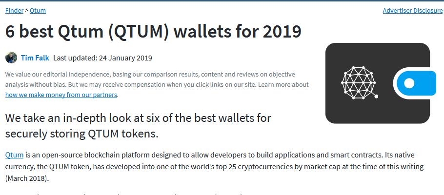 Kryptotop - Qtum wallets