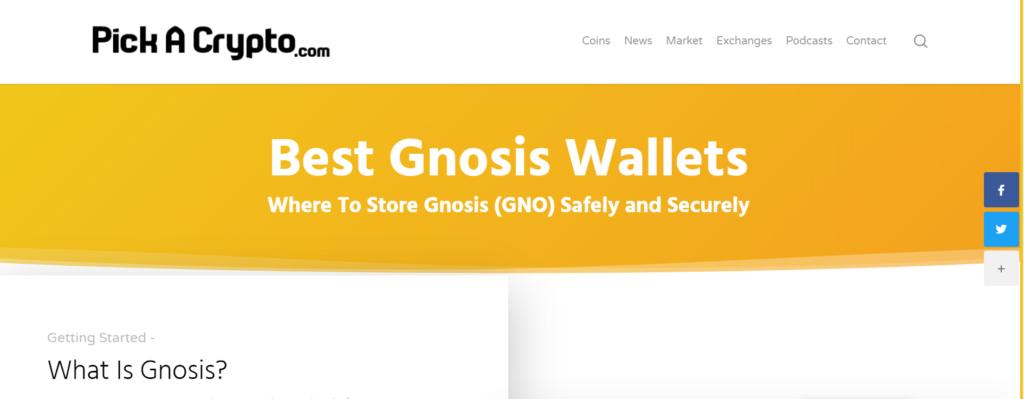 Gnosis wallets
