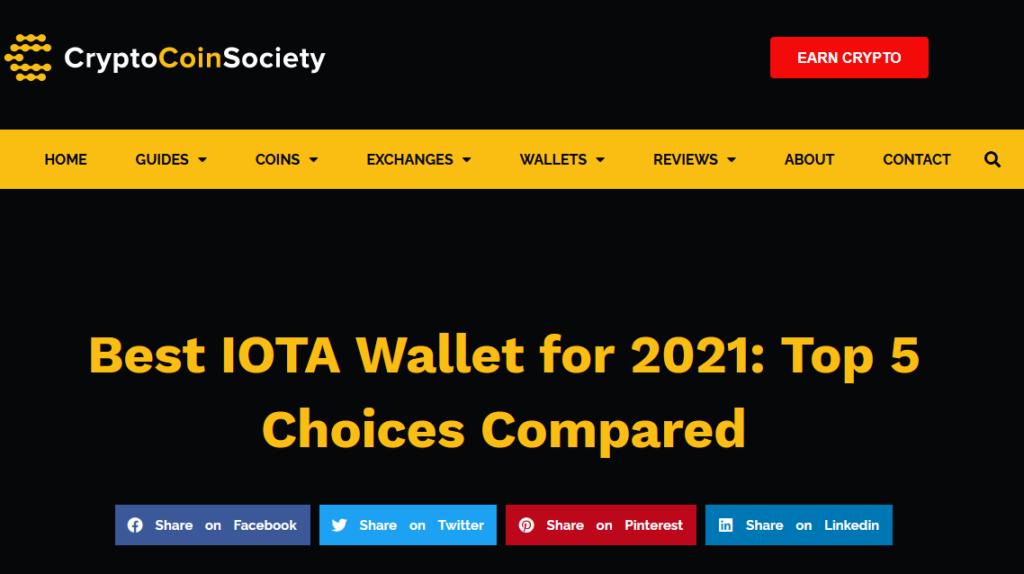 IOTA wallets