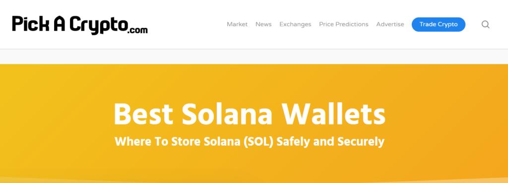 Solana wallets